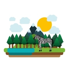 animal wildlife design vector image