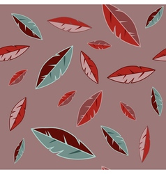 Background with feathers vector