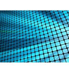 Blue rays light 3D mosaic EPS 10 vector