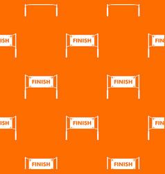 Finish line gates pattern seamless vector