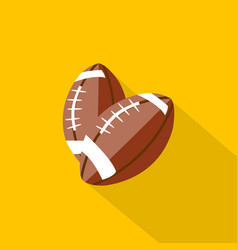 football icon set of great flat icons with style vector image