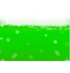 Green beer background for saint patricks day with vector