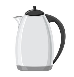 kettle flat design vector image