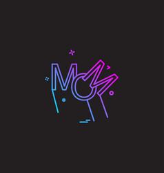 Mom icon design vector