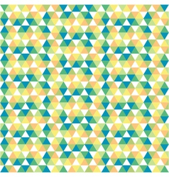 seamless pattern of geometrical shapes vector image