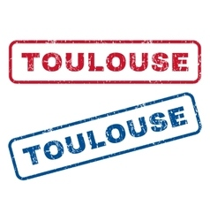 Toulouse Rubber Stamps vector image vector image