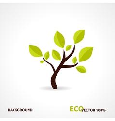 Eco tech design vector