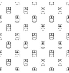 Candle glass pattern seamless vector