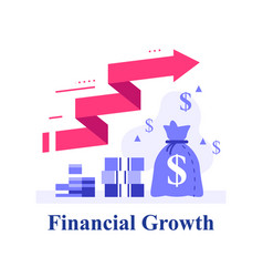 Fast capital growth fund raising vector