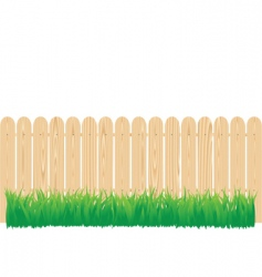 Fence circle vector