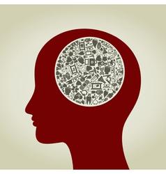 Head medicine2 vector
