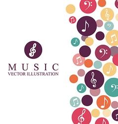 Music design vector