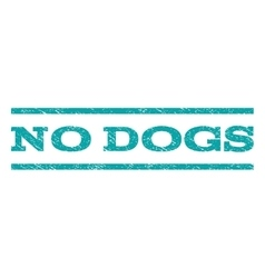 No dogs watermark stamp vector