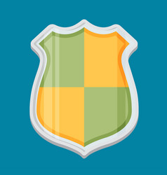 Shield flat vector