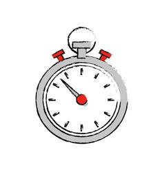Sport chronometer timer vector