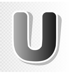 letter u sign design template element new vector image