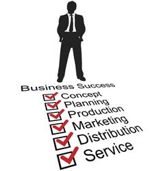 entrepreneur silhouette vector image vector image