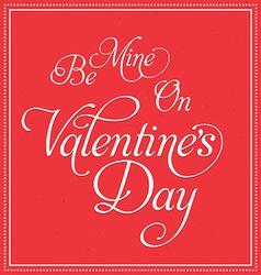 Valentines Deisgn vector image