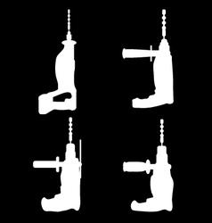 Drills vector image vector image