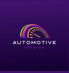 automotive logo icon vector image