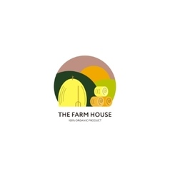 Farm House logo vector