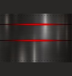 modern black metal texture background vector image
