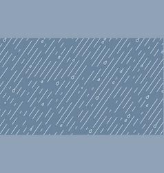 rain pattern rainy season background in vector image