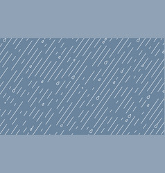 Rain pattern rainy season background vector