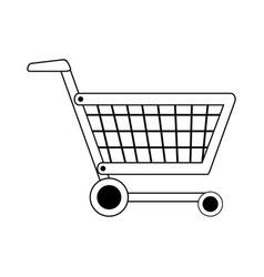 Shopping cart icon image vector