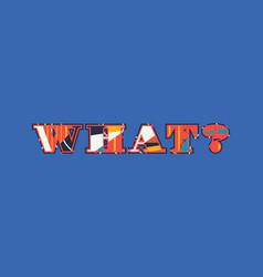 What concept word art vector
