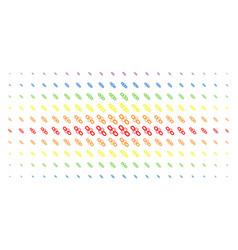 Break chain link spectrum halftone matrix vector