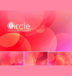 Circle abstract background - magenta vector
