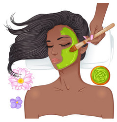 Face mask vector