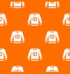 Hockey jersey pattern seamless vector