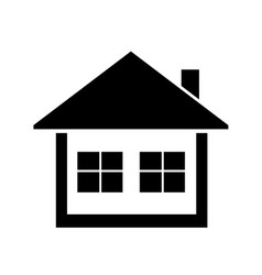 home icon simple symbol vector image