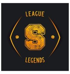 League legends vector image