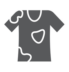 Stain removal glyph icon laundry and dirt t vector