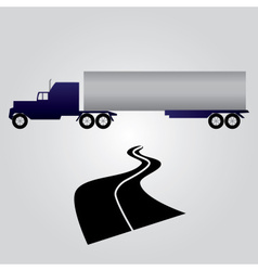 Truck and cargo eps10 vector
