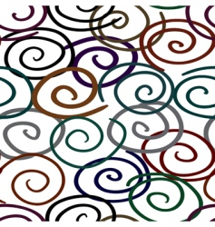 abstract twist line background seamless vector image vector image