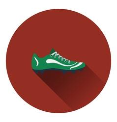 American football boot icon vector image vector image