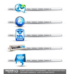 modern search banners vector image vector image