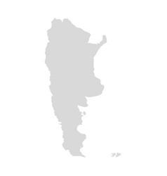 Argentina buenos aires map latin america vector