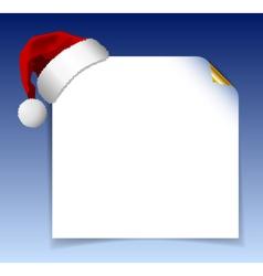 Santa claus list vector