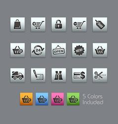 shopping - satinbox series vector image