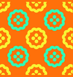 Stranger fruits seamless pattern vector