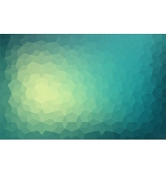 Triangle colorful abstract background vector