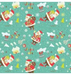 christmas wrapping vector image