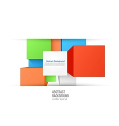 abstract background Square color and vector image