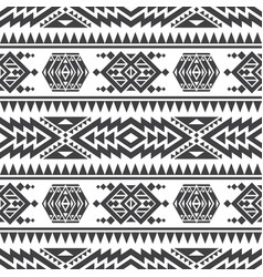 American aztec seamless texture native vector