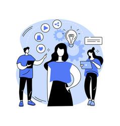 consumer behaviour abstract concept vector image